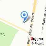 Стихиаль на карте Санкт-Петербурга