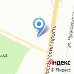 Леля на карте Санкт-Петербурга