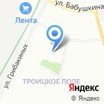Platido на карте Санкт-Петербурга