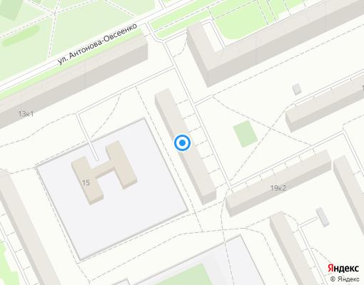 Жилищно-строительный кооператив «ЖСК-552» на карте Санкт-Петербурга