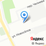 Опора на карте Санкт-Петербурга