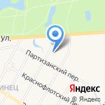 Дорожный учебно-инженерный центр на карте Санкт-Петербурга