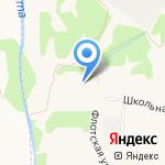 Ново-Девяткинская средняя общеобразовательная №1 на карте Санкт-Петербурга