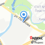 СоюзПрофСтрой на карте Санкт-Петербурга