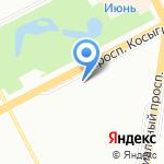 Анастасия на карте Санкт-Петербурга