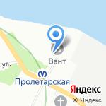 Держава на карте Санкт-Петербурга