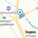 Мастер Кебаб на карте Санкт-Петербурга