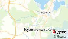 Отели города Сярьги на карте
