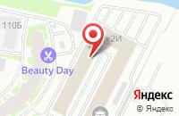 Схема проезда до компании Форвард в Санкт-Петербурге