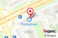 Схема проезда до компании Медальер в Санкт-Петербурге