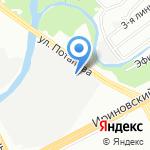 Ладога на карте Санкт-Петербурга