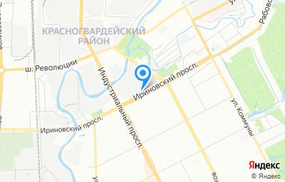 Местоположение на карте пункта техосмотра по адресу г Санкт-Петербург, пр-кт Ириновский, д 22 к 3