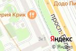 Схема проезда до компании Orchestra в Санкт-Петербурге