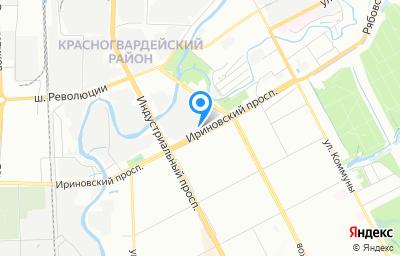 Местоположение на карте пункта техосмотра по адресу г Санкт-Петербург, пр-кт Ириновский, д 22