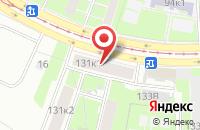 Схема проезда до компании Денсо в Санкт-Петербурге