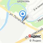 Пит-Стоп на карте Санкт-Петербурга