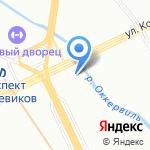 АГЕНТСТВО СТРАХОВЫХ УСЛУГ на карте Санкт-Петербурга