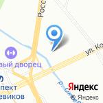 ОМО на карте Санкт-Петербурга