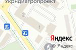 Схема проезда до компании Товариство меліораторів та водогосподарників України в