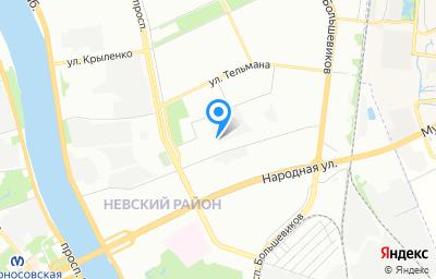 Местоположение на карте пункта техосмотра по адресу г Санкт-Петербург, пер Челиева, д 7А литер б