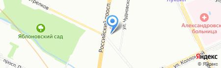 РИКО-ТВ на карте Санкт-Петербурга