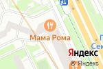 Схема проезда до компании Золотой каблучок в Санкт-Петербурге