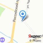 Аврора Тревел на карте Санкт-Петербурга