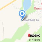 Ново-Девяткинский детский сад комбинированного вида №1 на карте Санкт-Петербурга
