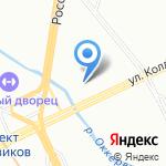 Чемпион на карте Санкт-Петербурга