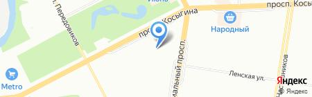 Детский сад №96 на карте Санкт-Петербурга