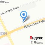 Квант на карте Санкт-Петербурга