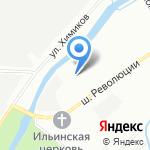 Гранд Ладожский на карте Санкт-Петербурга