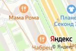 Схема проезда до компании Магазин товаров для дома в Санкт-Петербурге