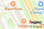 Схема проезда до компании Идиллия в Санкт-Петербурге