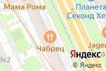 Схема проезда до компании ТК Спецодежда в Санкт-Петербурге
