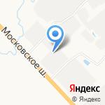 Гигапартс на карте Санкт-Петербурга
