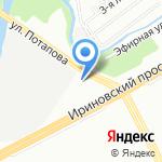 ХОККЕЙ ПЛЮС на карте Санкт-Петербурга