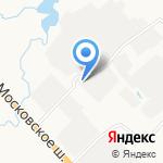 Ларгус-Кран на карте Санкт-Петербурга