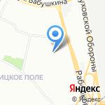 Гостевой дом на карте Санкт-Петербурга