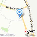 Пункт приема стеклотары на карте Санкт-Петербурга