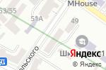 Схема проезда до компании Адвокат Петлицкий Я.А. в