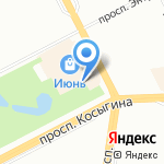 Планета Фейерверков на карте Санкт-Петербурга