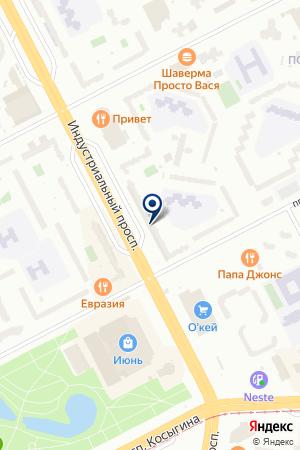 МАГАЗИН-САЛОН ДВЕРИ РОССИИ на карте Санкт-Петербурга