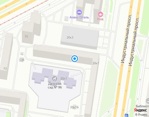 Жилищно-строительный кооператив «ЖСК № 1149» на карте Санкт-Петербурга
