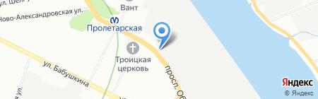 Музей Обуховского завода на карте Санкт-Петербурга