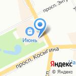 БИОпродукты на карте Санкт-Петербурга