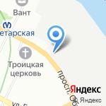 Нева Ресурс Северо-Запад на карте Санкт-Петербурга
