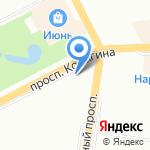 Pink на карте Санкт-Петербурга