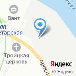 Строительные системы СПб на карте Санкт-Петербурга