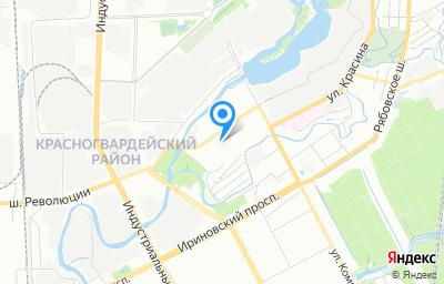 Местоположение на карте пункта техосмотра по адресу г Санкт-Петербург, ш Революции, д 83 литер а